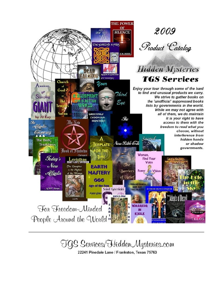 Hidden mysteries 2009 catalog paranormal deception fandeluxe Choice Image