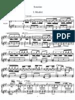 Sonatine Ravel Spartito