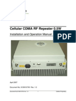 Cellular 0.5W RF Repeater User Manual 1_0