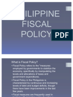 Philippine Fiscal Policy