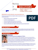 2011 Recovery Day Brochure