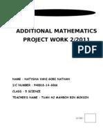 Additional Mathematics Project 2011