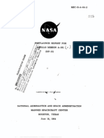 Post Launch Report for Apollo Mission A-101 (BP-13)
