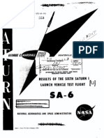 Results of the Sixth Saturn I Launch Vehicle Test Flight
