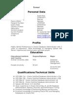 AwaisRiaz Resume