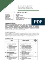 CHE42D Syllabus Ed 11-07-06