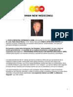 La Nueva Medicina Germánica del Dr Hamer