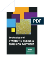 TECHNOLOGY OF SYNTHETIC RESINS & EMULSION POLYMERS