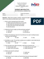 3rd Periodical Test(Grade 3)