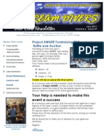 Dream Divers July 2011 Newsletter