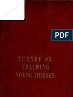 Breaking and Training of the Young Horse