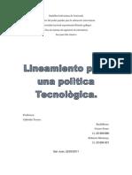 to Para Una Politica Tecnologica