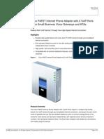 Cisco Pap2t Datasheet