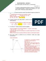 Ejercicios Adicionales Funciones y Ecuaciones