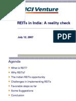 Presentation 5-REITs India -Realitycheck