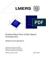 Nonlinear Phase Noise in Fiber Optical