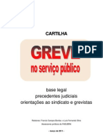 Cartilha 'Greve no Serviço Público'
