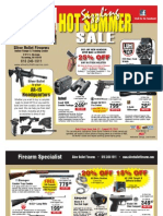 Silver Bullet Firearms Summer Sale Ad