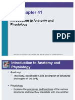 Fundementals in nursing 6th edition Power Point on Introduction to anatomy and physiology