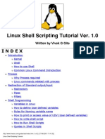 (eBook) Linux Shell Scripting Tutorial