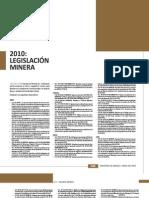 Legislación Minera