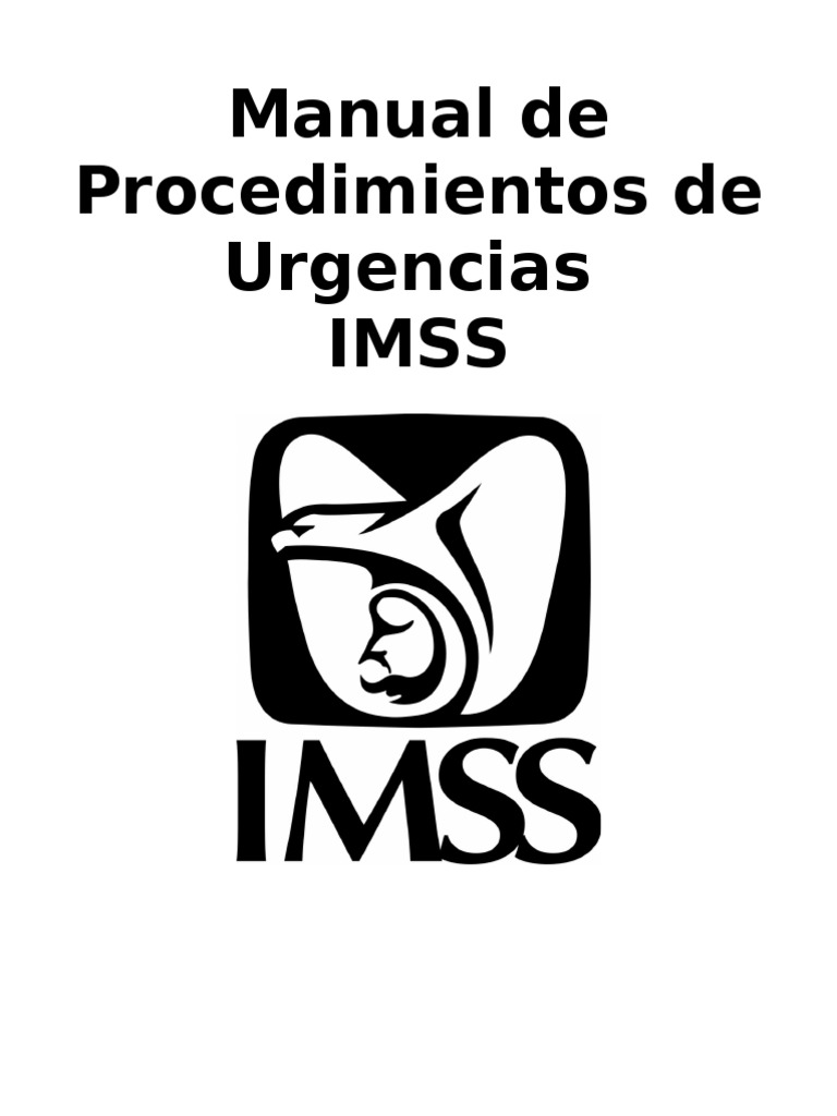 Manual de procedimientos de urgencias for Manual de acuicultura pdf
