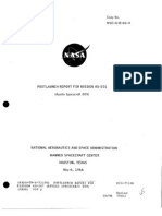 Post Launch Report for Mission as-201 (Apollo Spacecraft 009)