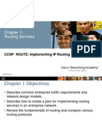 CCNPv6 Route 1 Introduction