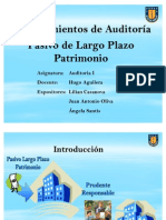 PRESENTACIÓN DE AUDITORÍA I