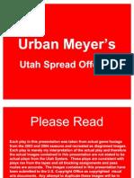 Urban Meyer Spread Offense Description