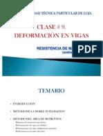 CLASE Deformaciones en Vigas