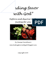 Finding Favor With God Preview E-Book