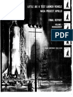 Little Joe II Test Launch Vehicle NASA Project Apollo. Volume 1 Management