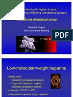 Heparin Induced Thrombocytopenia, Audit & International Survey