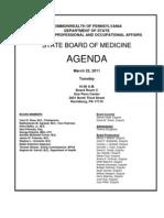 Medical Board Agenda-1