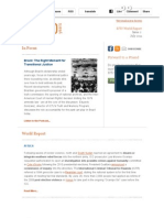 ICTJ World Report