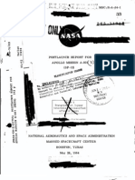 Post Launch Report for Apollo Mission A-001