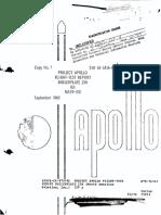 Project Apollo Flight-Test Report Boilerplate 23A