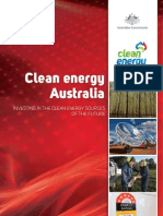 Clean Energy Australia Fact Sheet