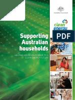 Supporting Australian Households Fact Sheet