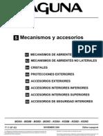 Lag II Mecanismos y Accesorios