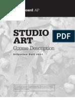 AP Studio Art Course Description