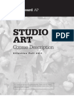AP Studio Art Course Description
