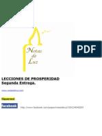 Lecciones Prosperidad II