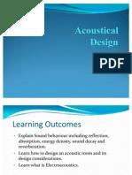 Acoustic Design Ppt