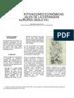 2. Las motivaciones que produjeron la expansión europea en el siglos XV y XVI. 2011
