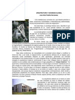Arquitectura y Sociedad Global Arqalpah