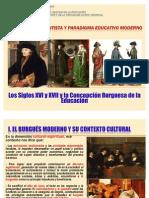 12. La Concepción Burguesa de la Educación. Siglos XVI y XVII