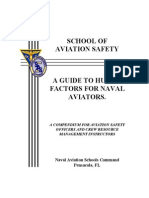 A Guide to Human Factors for Naval Aviators