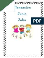 Planeacion Junio y Julio